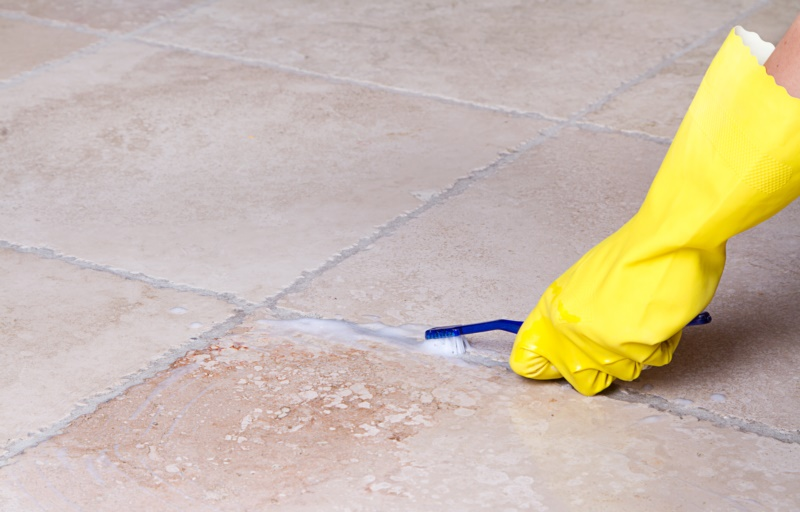 Acid for your Kitchen Floors
