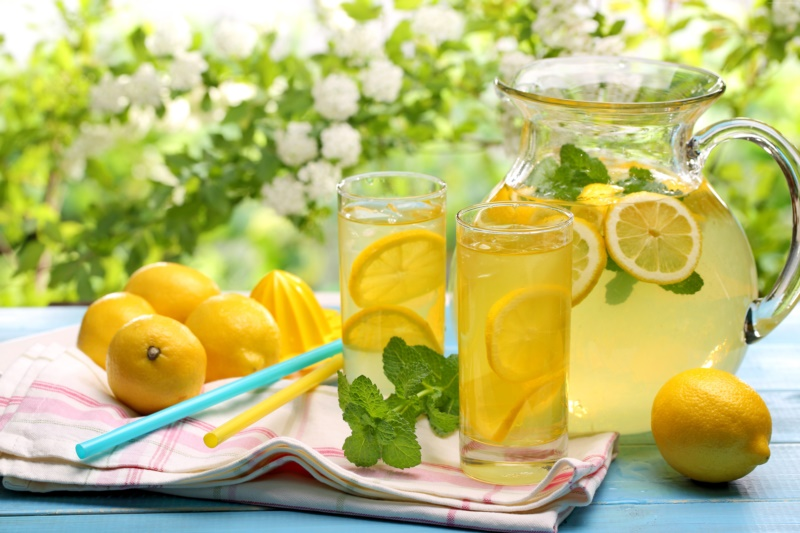 warm lemon water detox