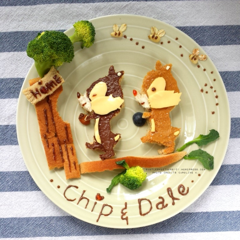 Food Art Ideas For Kids