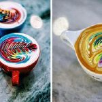41 Absolutely Beautiful Coffee Latte Art Designs (So Good you Won't Drink your Cup)