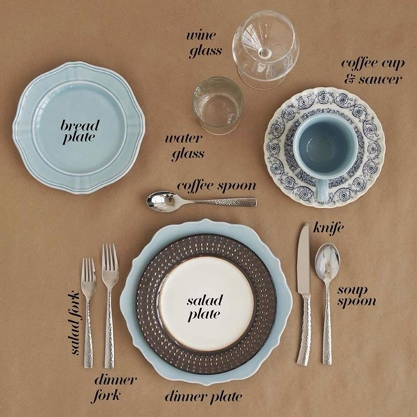 Formal Place Setting For Every Occasion Step By Step