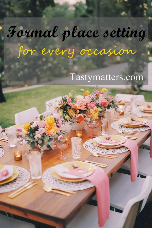 Formal Place Setting for Every Occasion (Step by Step Guide) & Formal Place Setting for Every Occasion (Step by Step Guide ...