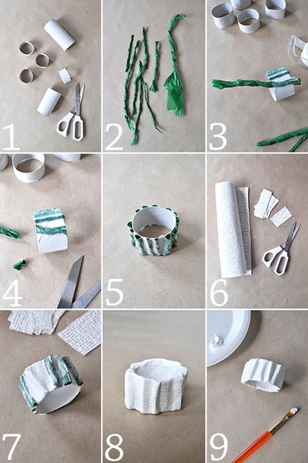 45 easy elegant diy napkin ring ideas tastymatters diy napkin rings 35 solutioingenieria Images