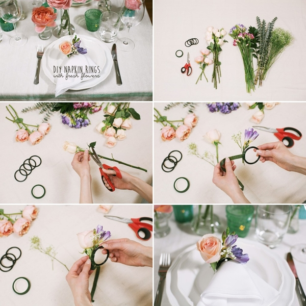 45 easy elegant diy napkin ring ideas tastymatters diy napkin rings 4 solutioingenieria Images