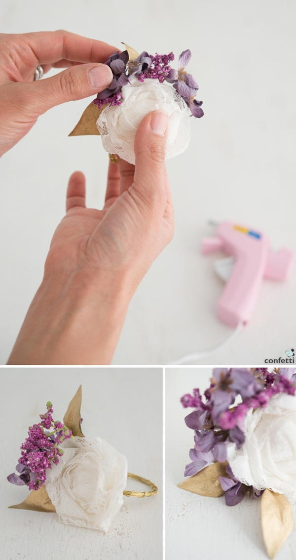 45 easy elegant diy napkin ring ideas tastymatters diy napkin rings 7 solutioingenieria Images