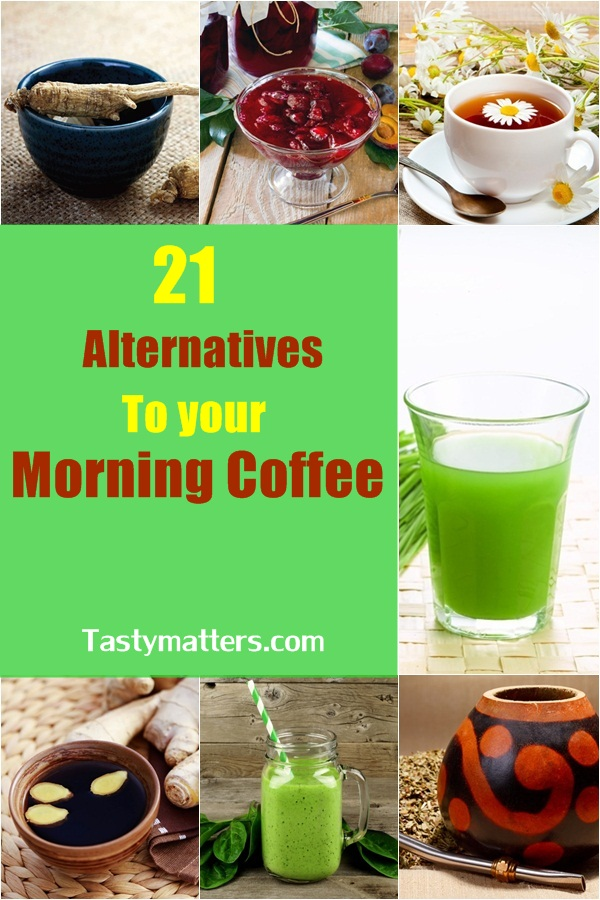 alternatives to morning coffee