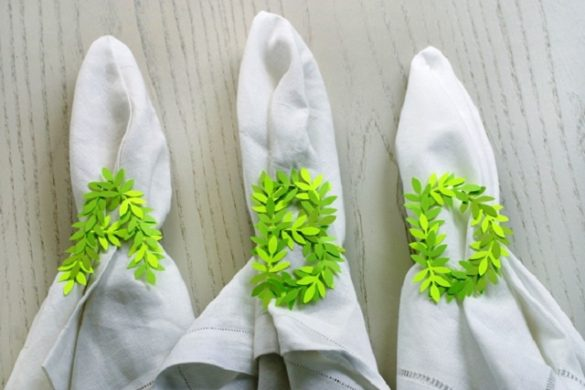 diy napkin rings feature