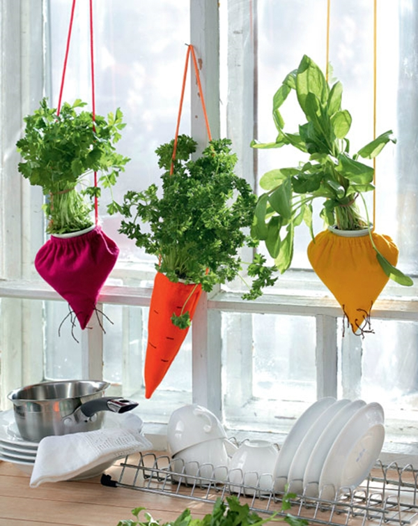 kitchen herb garden ideas 33