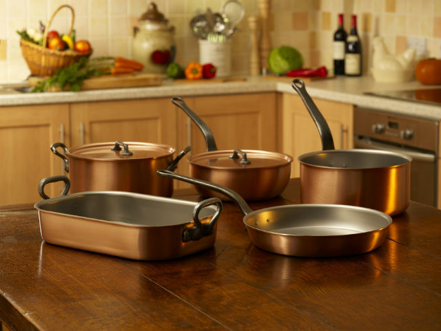 cooking with copper cookware health