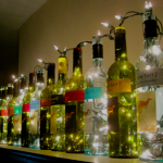 How to Make Decorative Wine Bottle Lights Without Drilling (19 Easy Ideas)