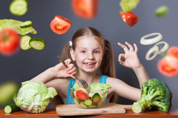 how to get your child eat vegetables 0