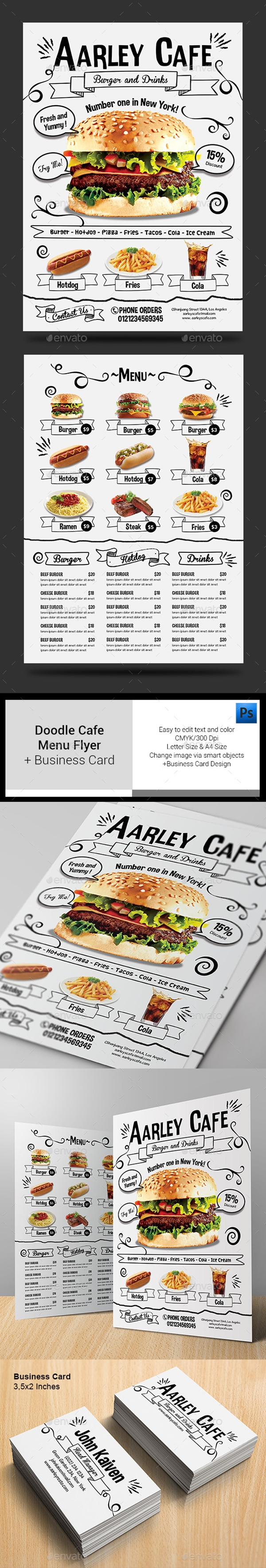 restaurant menu design 12