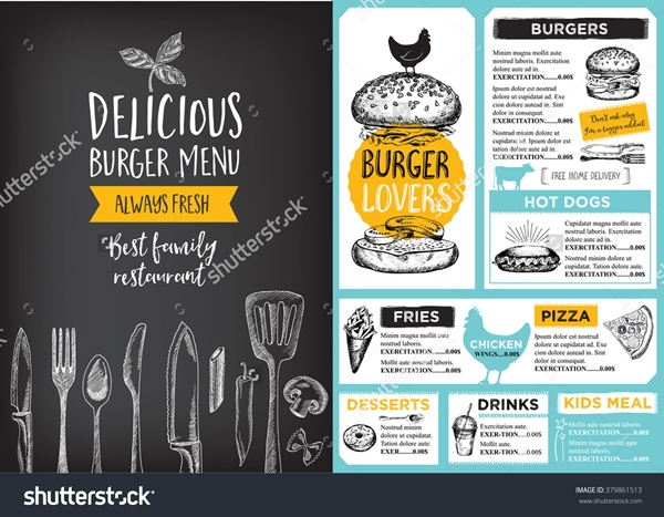 restaurant menu design 13