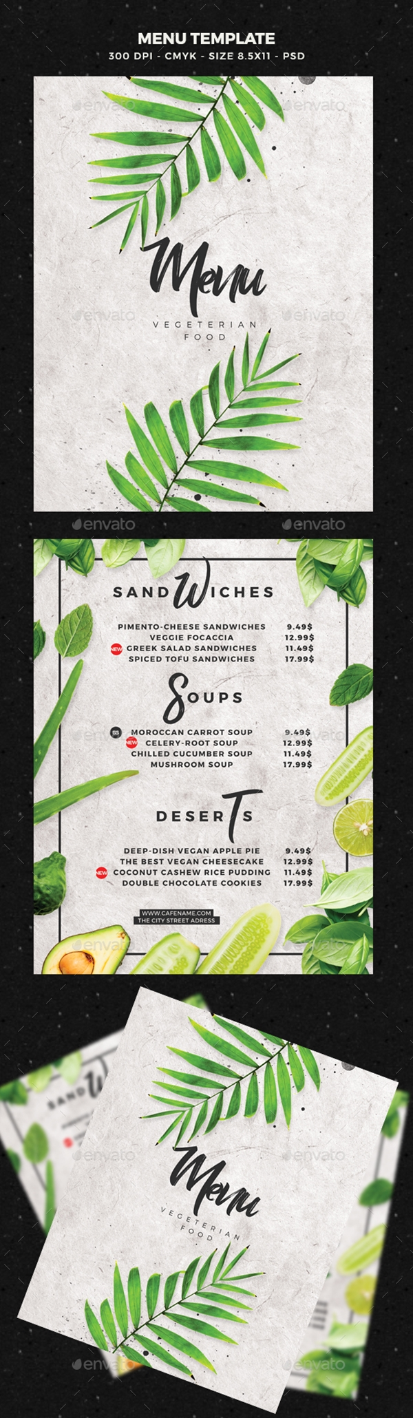 restaurant menu design 16