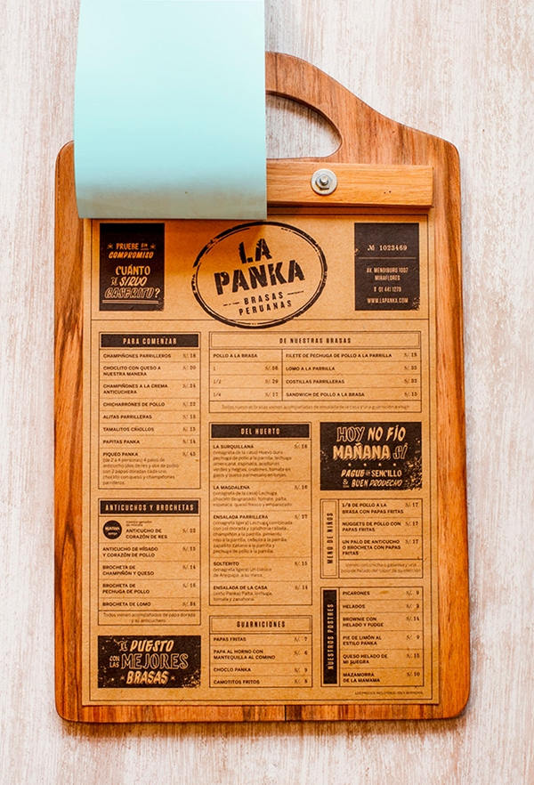 49+ Creative Restaurant Menu Design Ideas That Will Trick