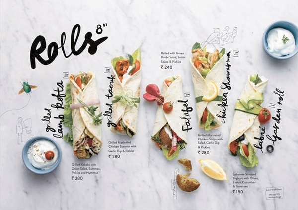 restaurant menu design 33 - Restaurant Menu Design Ideas