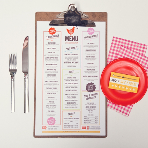 restaurant menu design 9