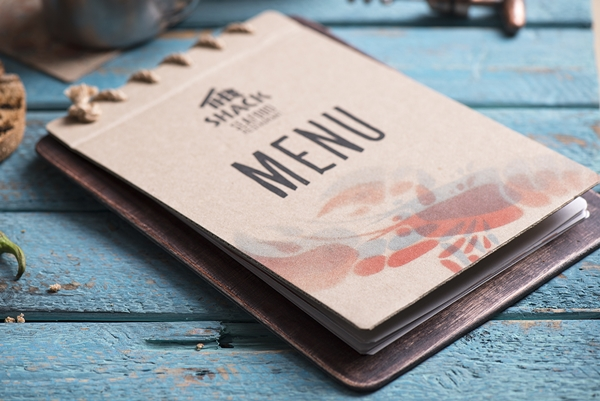 restaurant menu design a