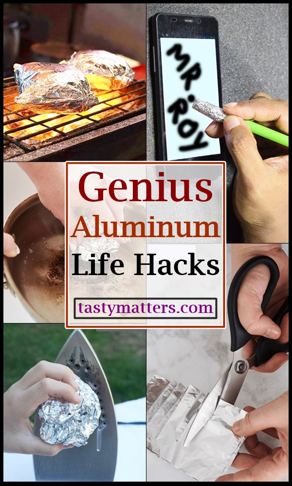 21 Genius Aluminum Foil Life Hacks You Will Want to Try