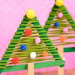 21 Simple DIY Christmas Tree Craft Ideas For Kids & Families