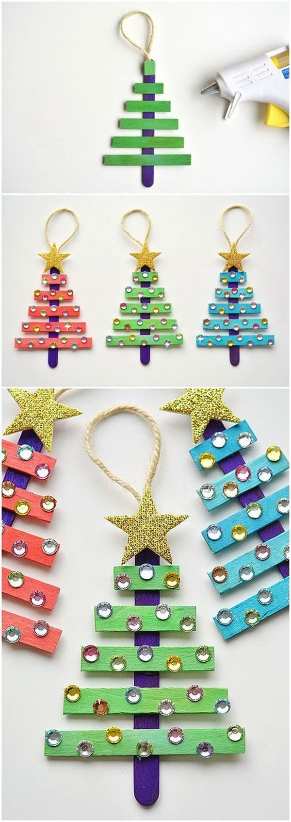 21 Simple Diy Christmas Tree Craft Ideas For Kids To Decorate Tree Tm