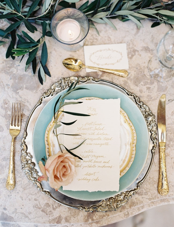 Wedding Table Setting Ideas a