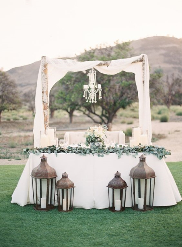 wedding table setting ideas 24