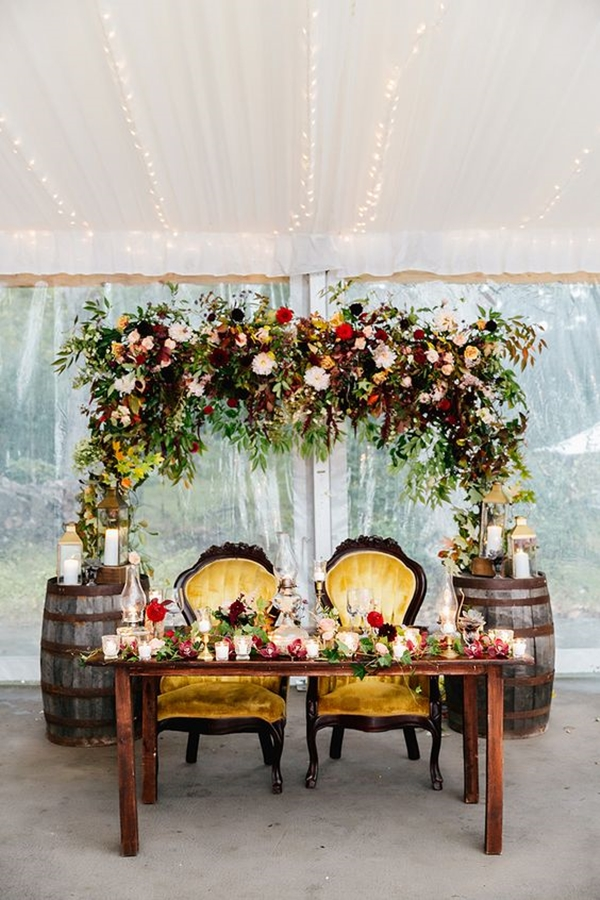 wedding table setting ideas 37