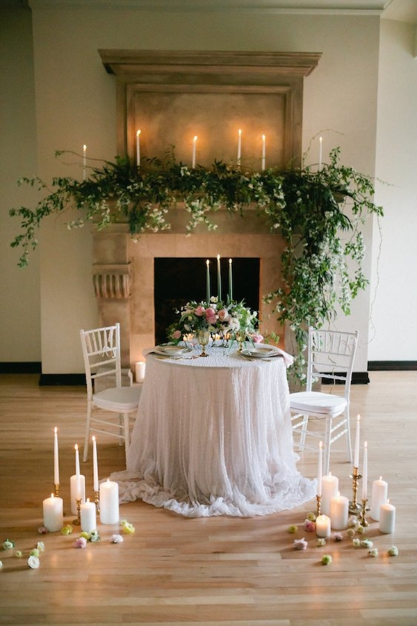 simple home wedding decoration ideas 31 wedding table setting ideas for couples 7485