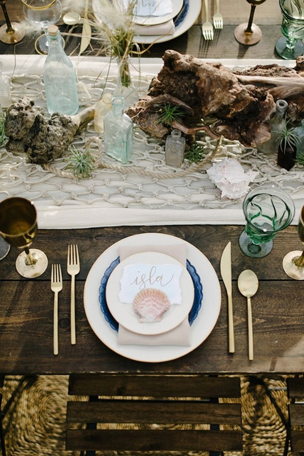 wedding table setting ideas gg