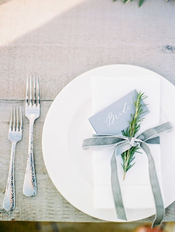 wedding table setting ideas h