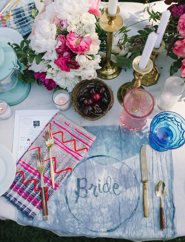 wedding table setting ideas z