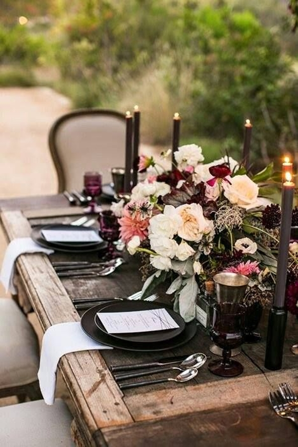 wedding table setting ideas z1