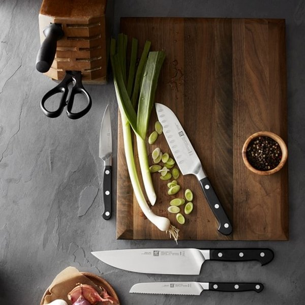 types of kitchen knives and uses a