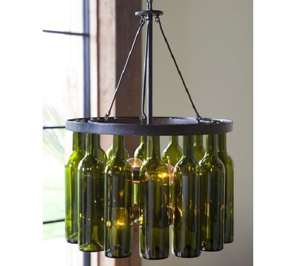 decorated Wine bottle lights without drilling 2a