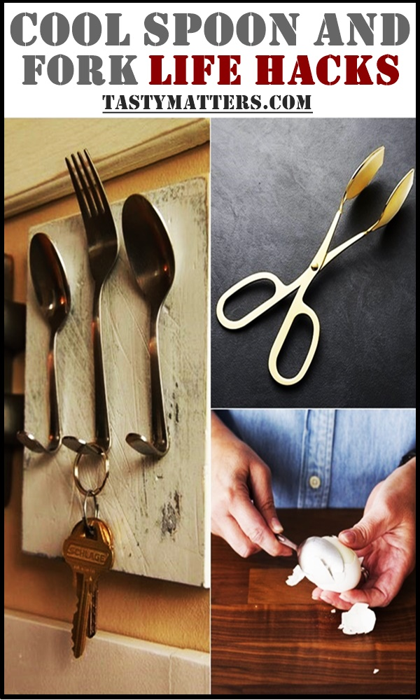 Cool Spoon and Fork Life Hacks That will Make Your Life a Whole Lot Easier