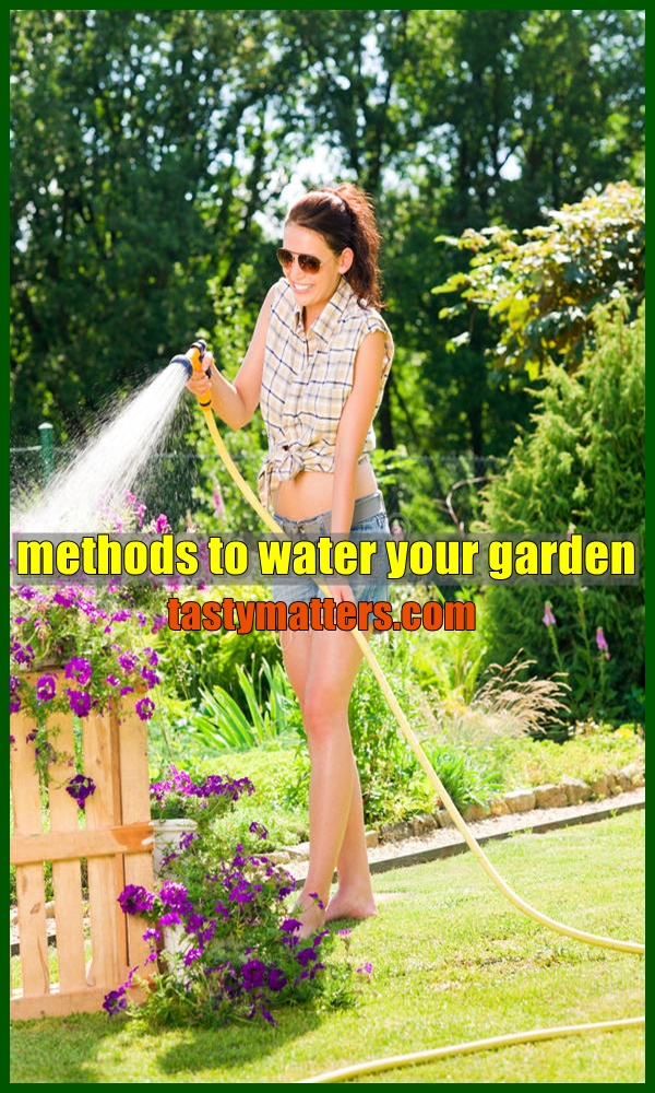 methods to water your garden