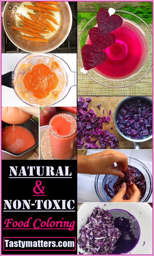 Natural & Non-Toxic Food Coloring